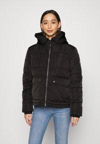 Tommy Jeans - HOODED JACKET - Winter jacket - black - 0