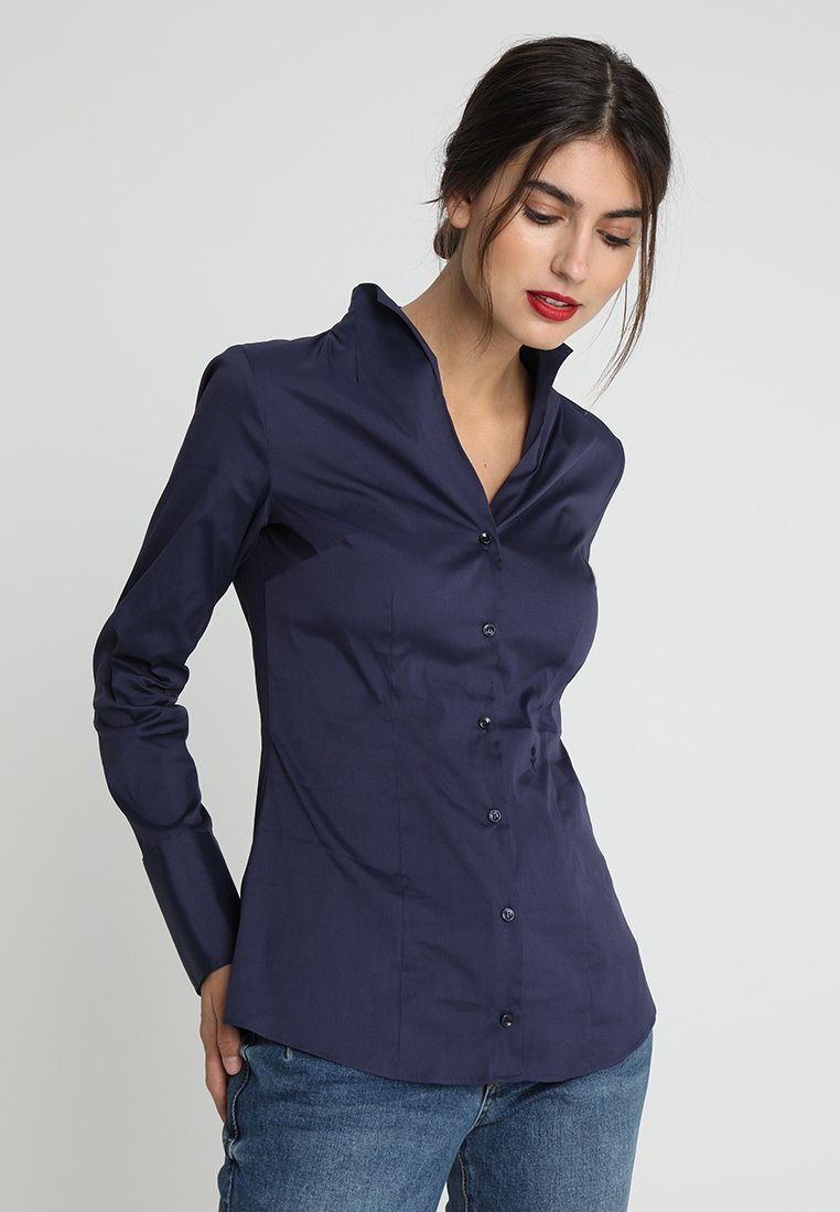 Seidensticker - Button-down blouse - dark blue