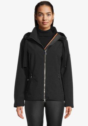 MIT KAPUZE - Outdoor jacket - schwarz