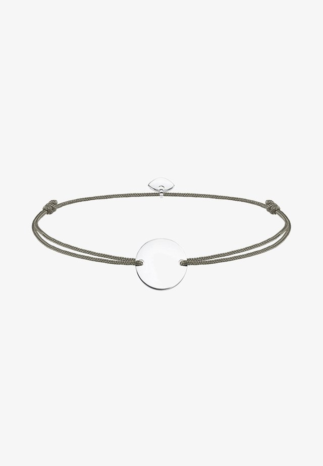 LITTLE SECRET - Armband - silver-coloured/grey
