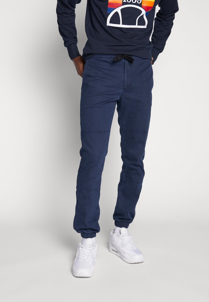 Topman - JOGGER - Pantaloni - navy