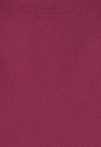 Gilly Hicks - NO SHOW THONG 3 PACK - Tanga - nude/berry wine/black - 7