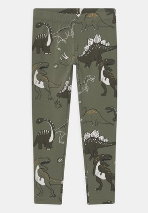 MINI DINOS - Leggings - Trousers - khaki