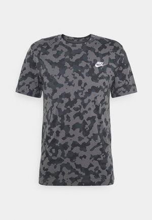 TEE CLUB HOOK - T-shirt con stampa - iron grey