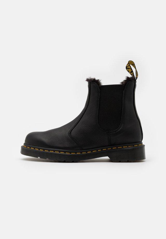 2976 UNISEX - Korte laarzen - black ambassador