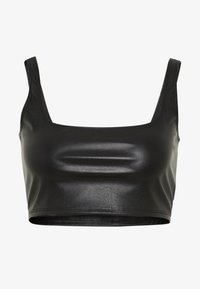 Nly by Nelly - CROP TOP - Camicetta - black - 4