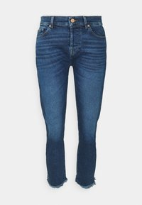 7 for all mankind - ASHER LUXE VINTAGE REJOICE - Jeansy Slim Fit - mid blue - 3
