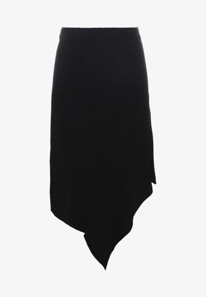 IRENE LAYER SKIRT - Jupe trapèze - black