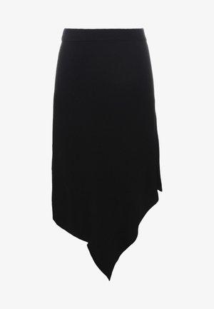 IRENE LAYER SKIRT - A-linjainen hame - black