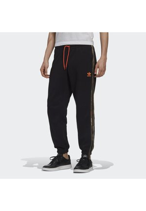CAMO JOGGERS - Tracksuit bottoms - black