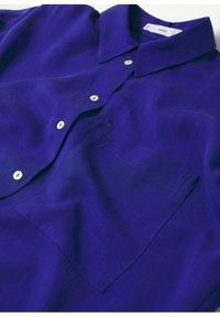 Mango - Button-down blouse - bleu - 7