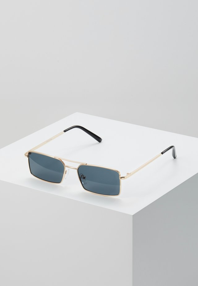 ONSSUNGLASSES BOX UNISEX - Lunettes de soleil - shiny gold-coloured/black