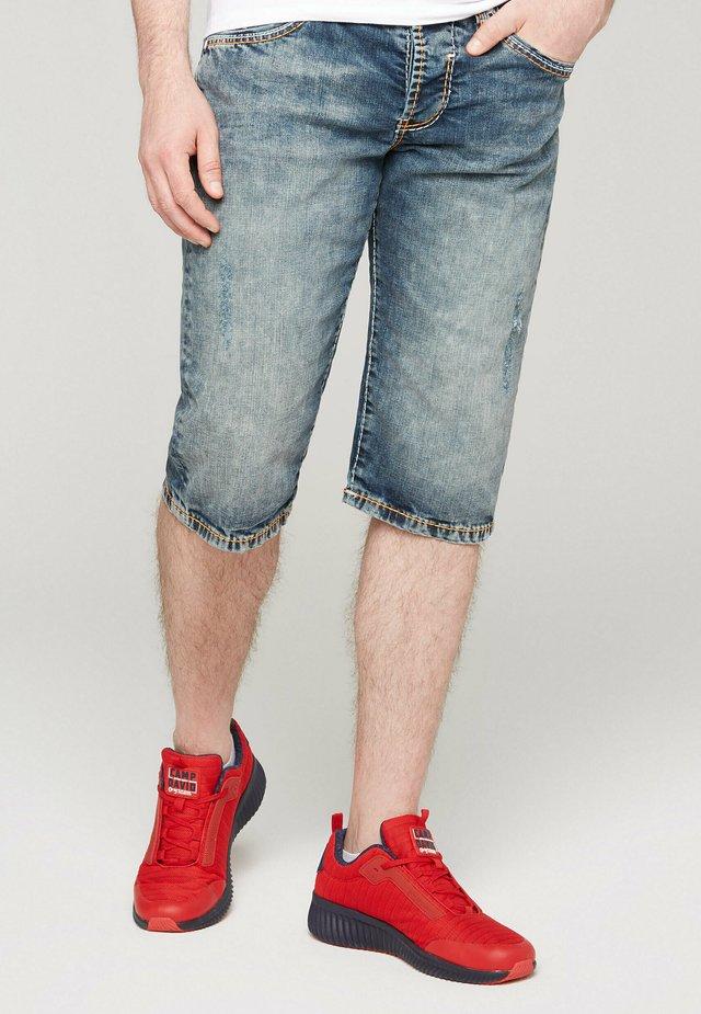 Denim shorts - moon blue used