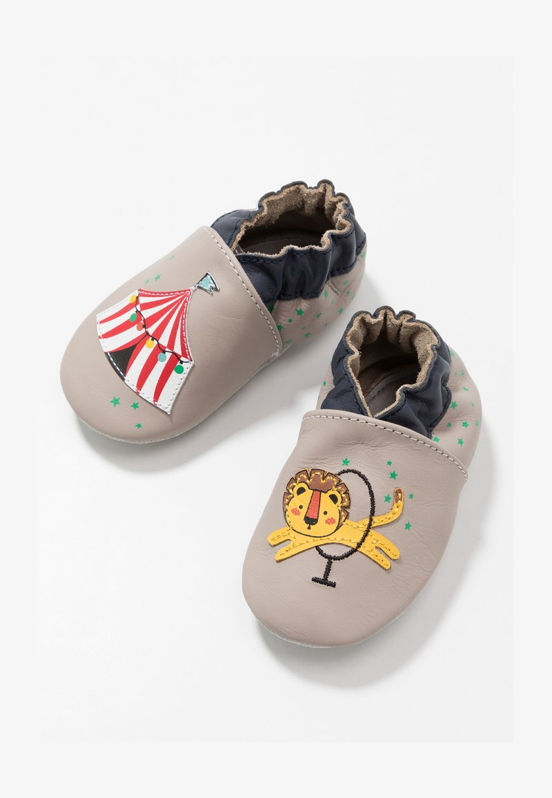Robeez - LION CIRCUS - First shoes - gris/taupe