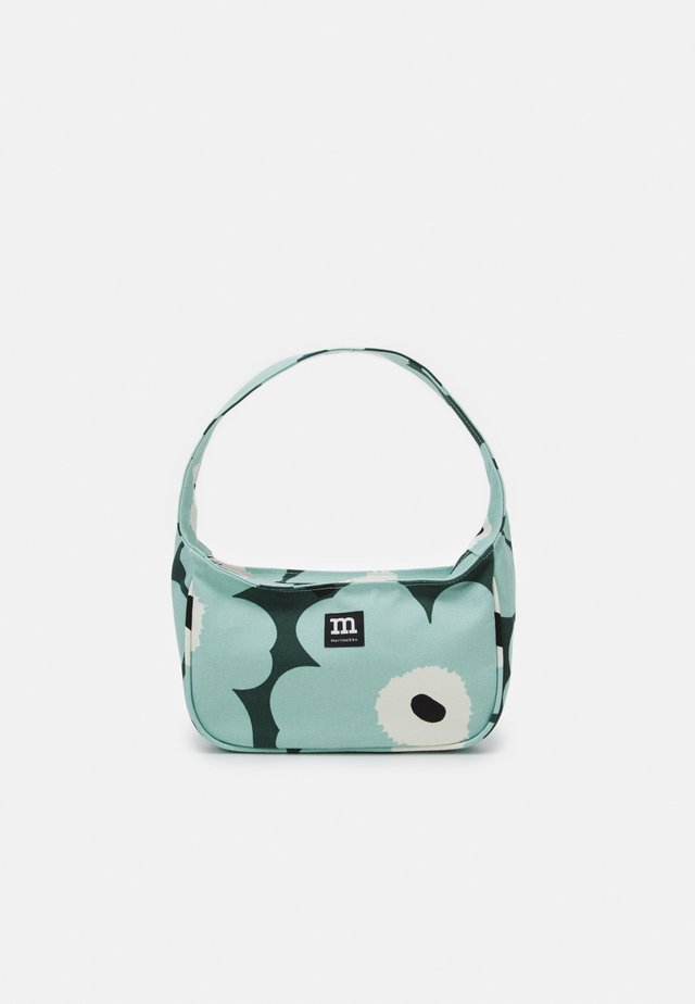 KÄENKUKKA PIENI UNIKKO BAG - Handbag - dark green/green/off white