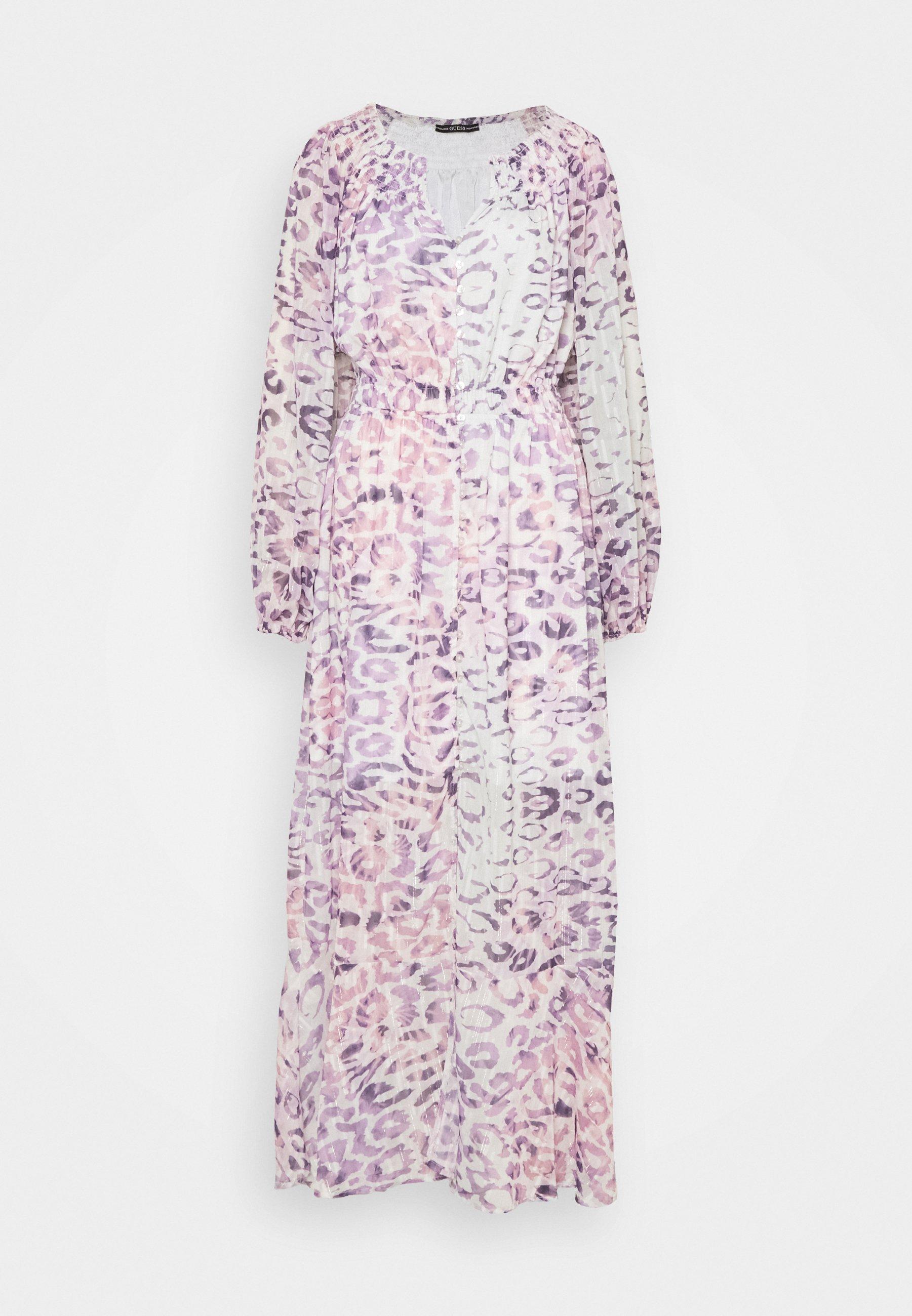 Women PANSY DRESS - Maxi dress - animal dream lilac