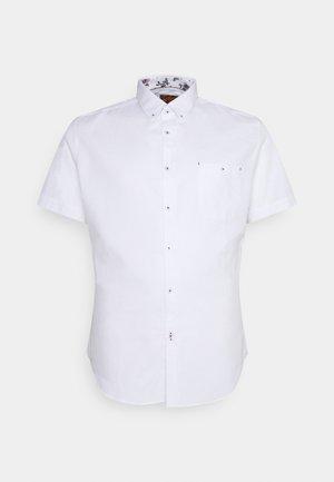 RODNEY TEXTURED SHIRT - Košile - white