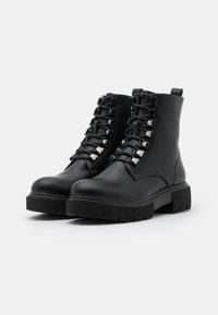 KHARISMA - Platform ankle boots - soft nero - 2
