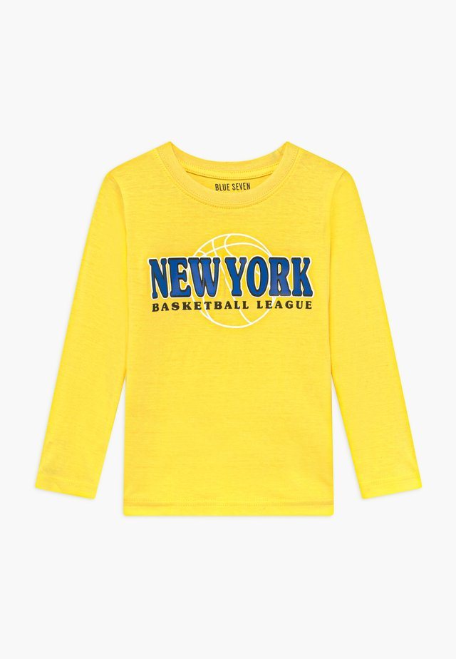 KIDS NEW YORK CITY  - Top sdlouhým rukávem - gelb