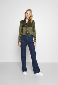 Polo Ralph Lauren - CHARMEUSE - Button-down blouse - expedition olive - 1