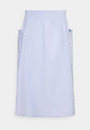 A-line skirt - blue light