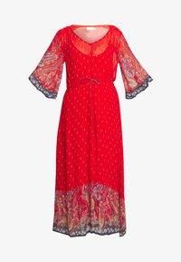 Cream - NALITACR DRESS - Robe longue - aurora red - 5