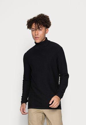 JJWIND ROLL NECK - Jumper - black