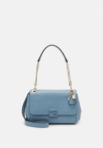 BLANE FLAP SHOULDER BAG - Handbag - blue