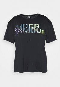 Under Armour - GEO GRAPHIC - Print T-shirt - black - 0
