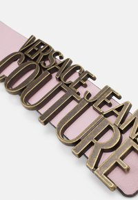 Versace Jeans Couture - LETTERING BUCKLE - Riem - rosa intimo - 3