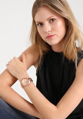 BRADSHAW MINI - Chronograph watch - rosegold-coloured