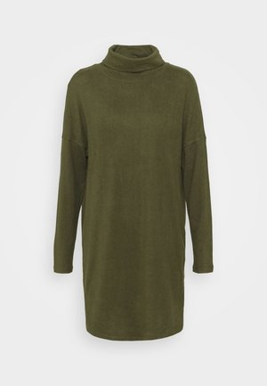 JDYSARA TONSY NECK DRESS - Jumper dress - kalamata