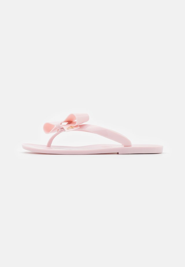 BEJOUW - Tongs - light pink