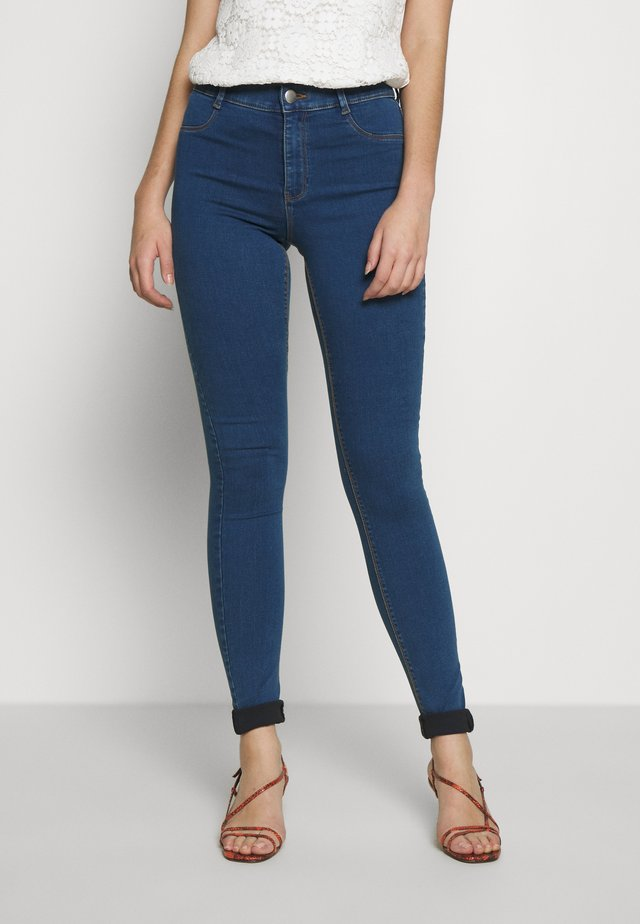 FRANKIE - Jeans Skinny Fit - mid wash denim