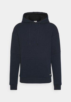 JCOBUTTON HOOD - Luvtröja - navy blazer