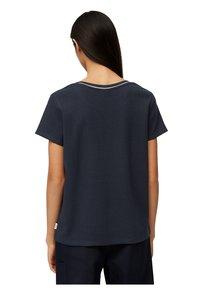 Marc O'Polo DENIM - Basic T-shirt - scandinavian blue - 2