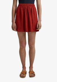edc by Esprit - A-line skirt - terracotta - 6