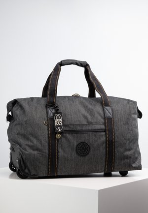 ART ON WHEELS M - Wheeled suitcase - black indigo