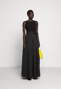 Lauren Ralph Lauren - MEMORY LONG GOWN COMBO - Occasion wear - black - 1