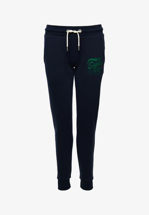 TRACK & FIELD CLASSIC  - Tracksuit bottoms - nautical navy