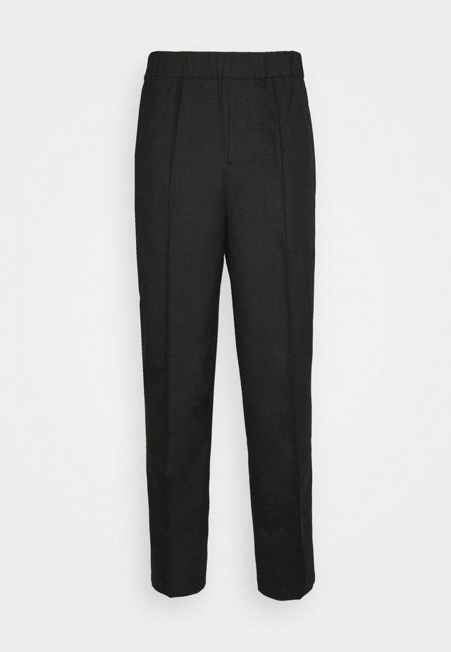 TROUSER - Pantalon classique - black