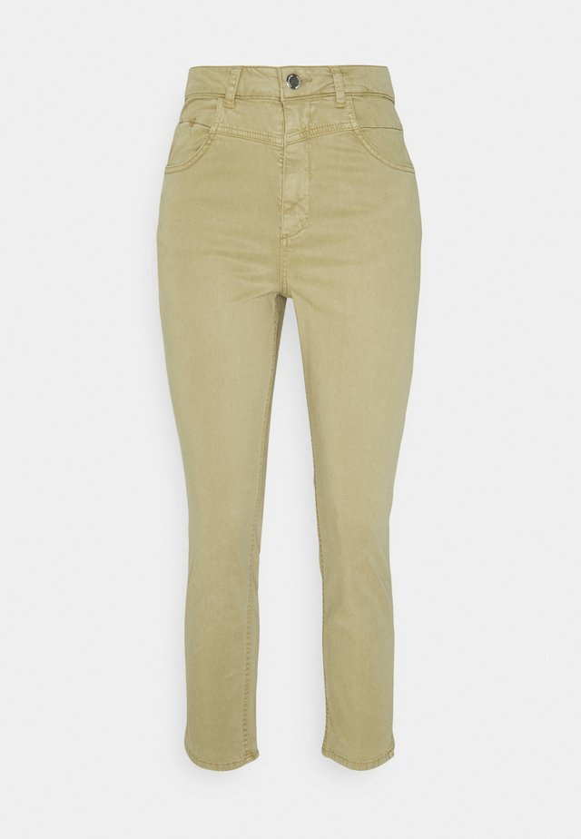 TROUSER - Chinos - muddy green