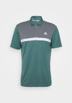 PERFORMANCE SPORTS GOLF SHORT SLEEVE  - Polo shirt - tech emerald/black melange