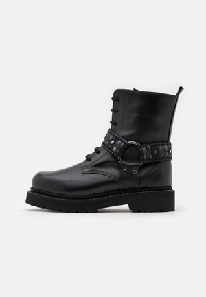 MARTINE BOOT - Lace-up ankle boots - nero limousine