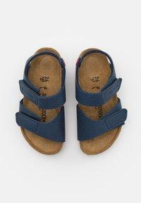 Birkenstock - PALU LOGO  - Sandals - desert soil blue/red - 3