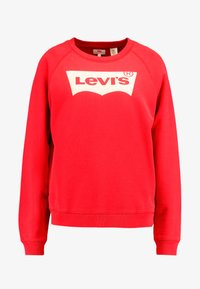 Levi's® - RELAXED GRAPHIC CREW - Sweatshirt - brilliant red - 3