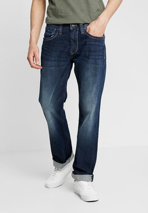 KINGSTON ZIP - Straight leg jeans - blue