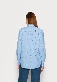 Gap Tall - Button-down blouse - navy - 2