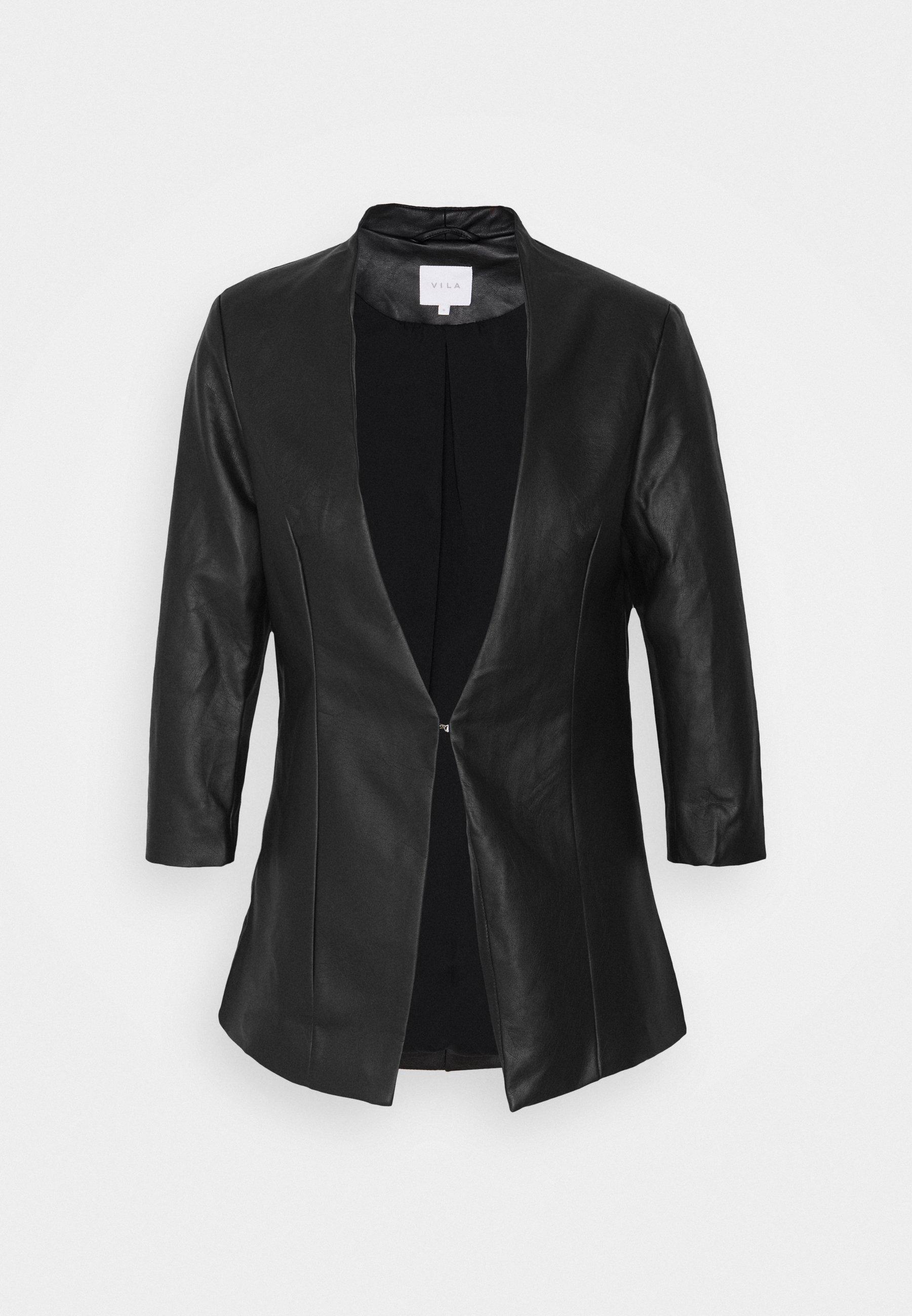 VILUPPI COATED Blazer black