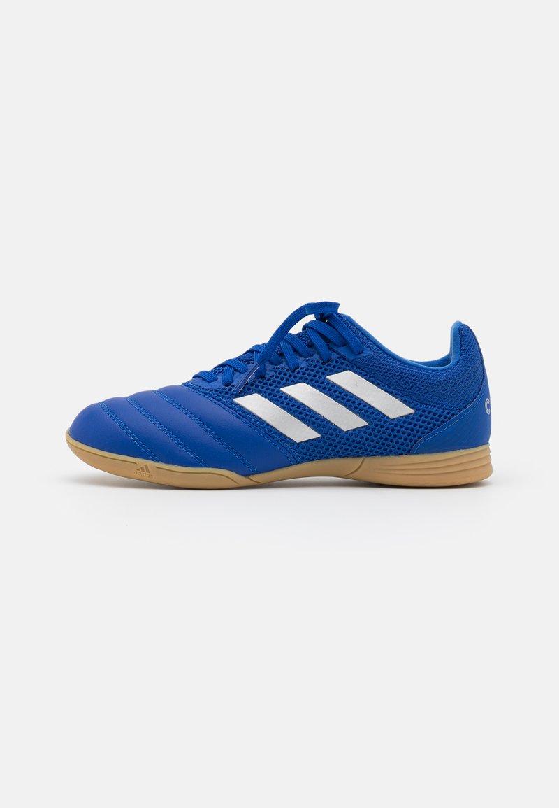 adidas Performance - COPA 20.3 FOOTBALL SHOES INDOOR UNISEX - Indoor football boots - royal blue/silver metallic